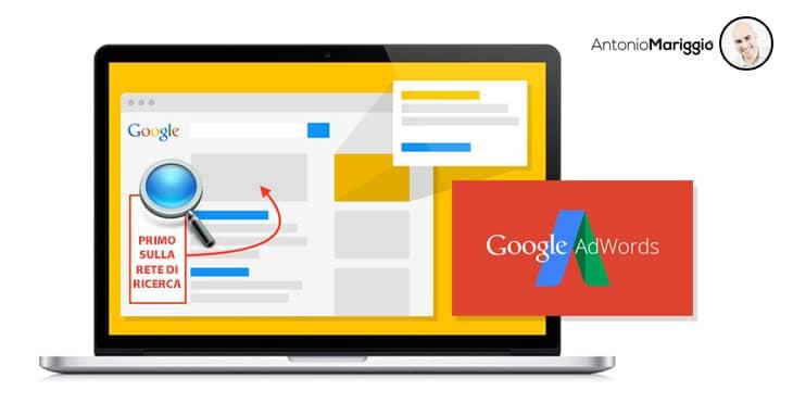 Antonio Mariggio Google Adwords