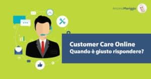 Read more about the article Customer Care Online ovvero rispondere alle domande dei clienti!