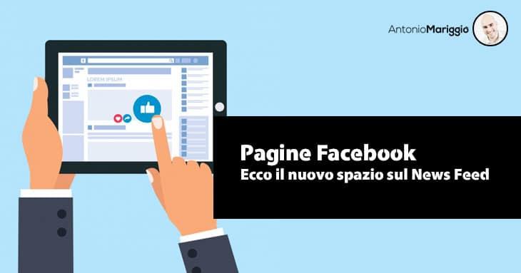Read more about the article Facebook – Nuovo Carosello delle Pagine che ti Piacciono