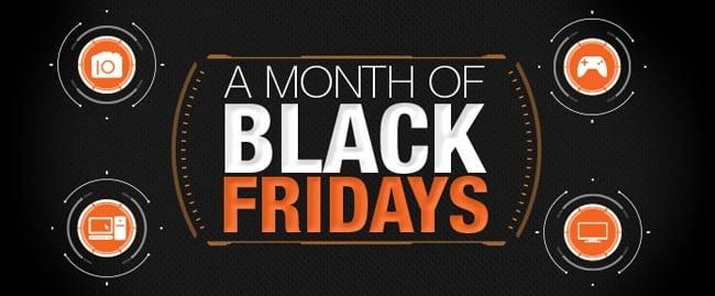 black friday month