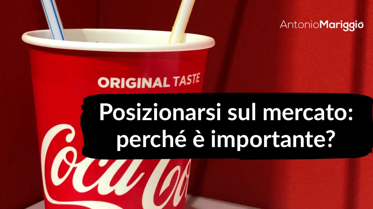 Read more about the article Posizionarsi sul mercato: perchè è importante?