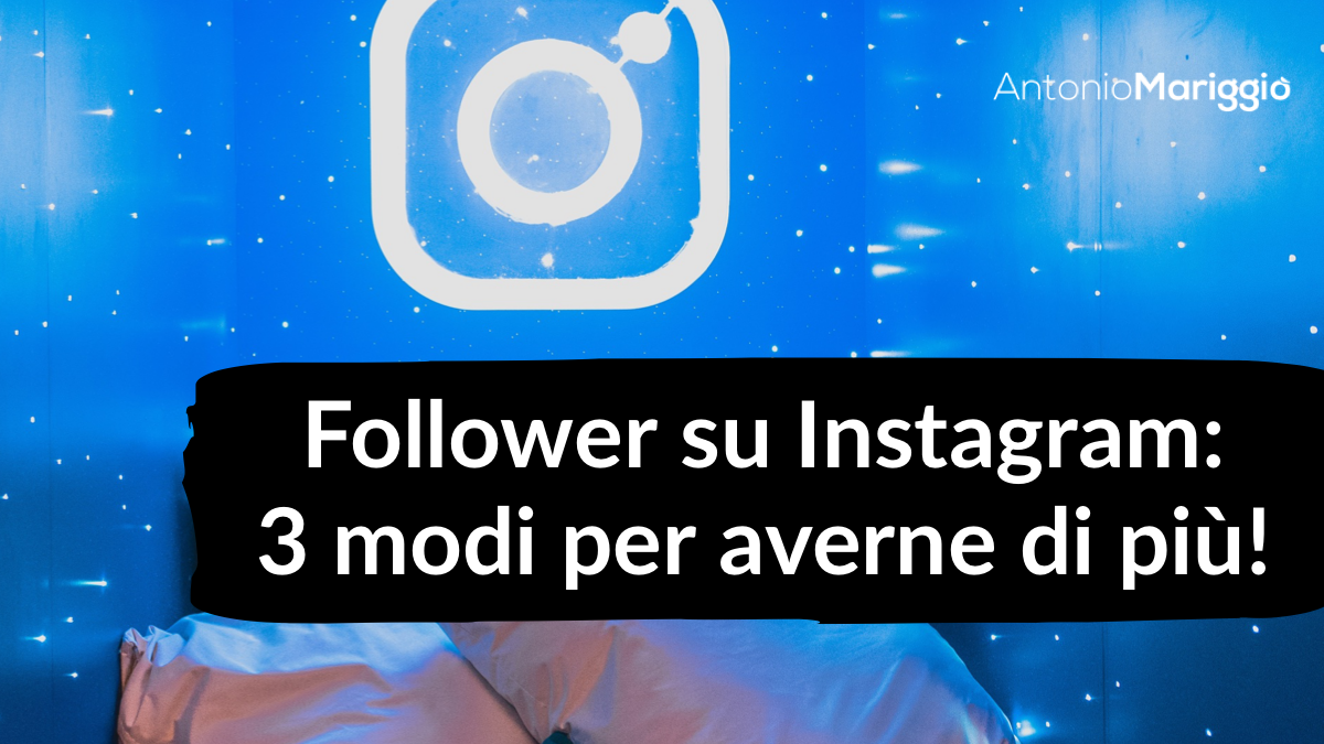 follower su instagram
