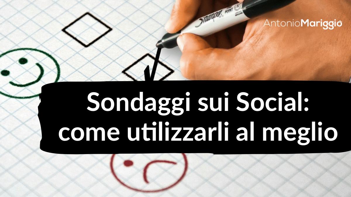 Read more about the article Sondaggi sui social: come utilizzarli al meglio